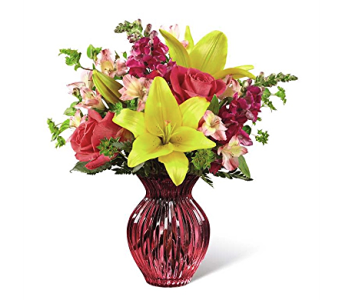 The FTD Happy Spring Bouquet in Cicero NY, The Floral Gardens