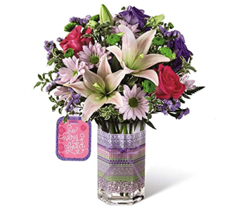 The FTD So Very Loved Bouquet by Hallmark in Cicero NY, The Floral Gardens