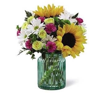 The FTD Sunlit Meadows Bouquet  in Cicero NY, The Floral Gardens