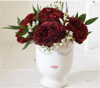 William's Celfie Vase - RED in West Seneca NY, William's Florist & Gift House, Inc.