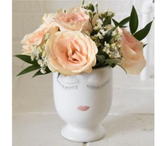 William's Celfie Vase - PINK in West Seneca NY, William's Florist & Gift House, Inc.