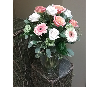 Love in Coral in Lawrenceville GA, Country Garden Florist