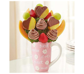 Fruit Filled Mug for Mom in Homer NY, Arnold's Florist & Greenhouses & Gifts