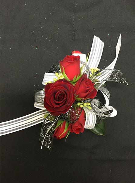 Red Corsage in Augusta GA, Martina's Flowers & Gifts