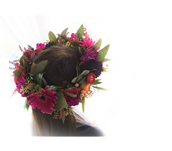 Flower Crown in Rogers AR, Shirley's Flower Studio