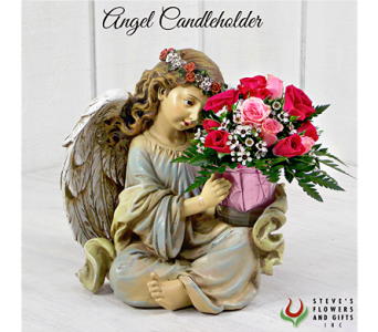Angel Candle Holder in Indianapolis IN, Steve's Flowers and Gifts