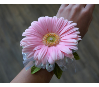 Gerbera Corsage in Muskegon MI, Wasserman's Flower Shop