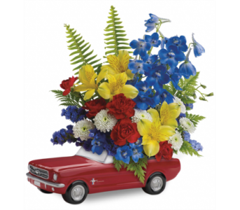 '65 Ford Mustang Bouquet in McLean VA, MyFlorist