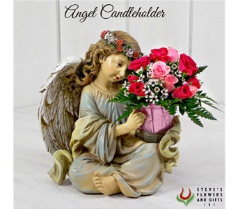Angel Candle Holder in Pendleton IN, The Flower Cart