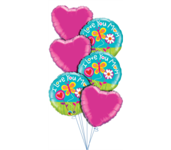Mother's Day Balloon Bouquet in Princeton, Plainsboro, & Trenton NJ, Monday Morning Flower and Balloon Co.