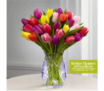 The FTD Spring Bouquet by Better Homes & Gardens in Murrells Inlet SC, Callas in the Inlet