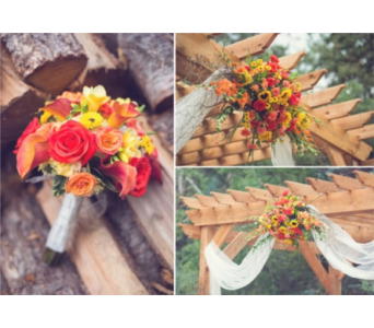 Custom Wedding in Littleton CO, Cindy's Floral