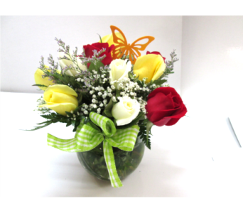 Rose Bowl in Worcester MA, Holmes Shusas Florists, Inc