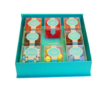 SUGARFINA FAVES 8PC BENTO BOX in Seattle WA, Topper's European Floral Design