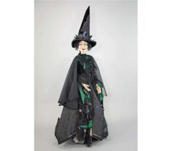 Katherine�s Collection 32 inch standing witch doll in Bellevue WA, CITY FLOWERS, INC.
