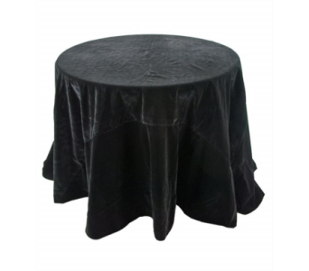 Katherine�s Collection Black Velvet 96 inch table  in Bellevue WA, CITY FLOWERS, INC.
