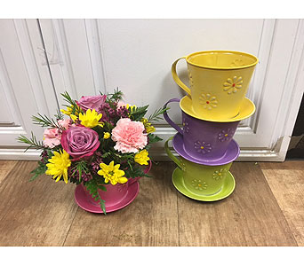 Tea with Mom in Fargo ND, Dalbol Flowers & Gifts, Inc.