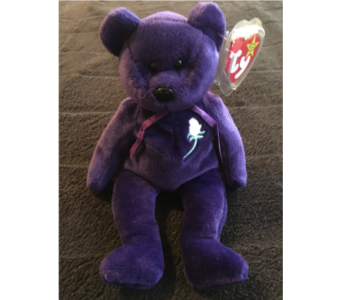 classic ty- teddy bear Princess in Reseda CA, Valley Flowers