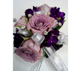 Lavender Rose Corsage in Ypsilanti MI, Norton's Flowers & Gifts
