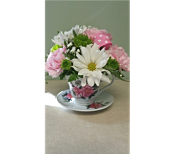 My Cup of Tea in Amherstburg ON, Flowers By Anna