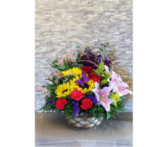 Sunny Basket in Sequim WA, Sofie's Florist Inc.