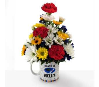 Graduation Mug in Southfield MI, Thrifty Florist