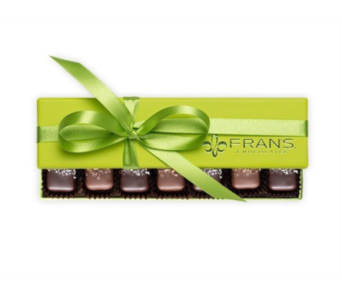 FRANS CHOCOLATES CARAMELS 7 piece box  in Bellevue WA, CITY FLOWERS, INC.