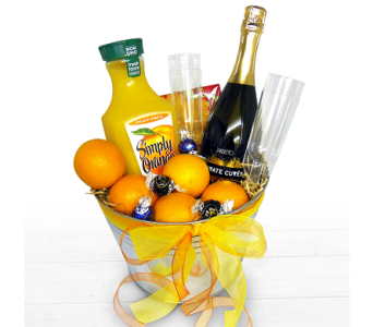 Mimosa Party Kit by Nature Nook� in Cleves OH, Nature Nook Florist & Wine Shop