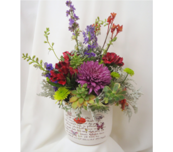 Gardening Notes Bouquet in Saratoga Springs NY, Dehn's Flowers & Greenhouses, Inc