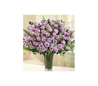 Long Stem Purple Roses in Palm Bay FL, Beautiful Bouquets & Baskets