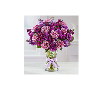 Mom loves purple  in Palm Bay FL, Beautiful Bouquets & Baskets
