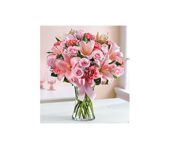 Expressions of Pink in Palm Bay FL, Beautiful Bouquets & Baskets