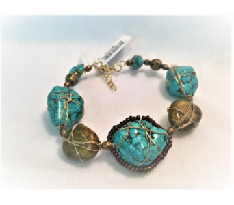 Stone Jade Bracelet in Hudson NH, Anne's Florals & Gifts