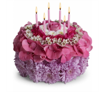 Birthday Cake in Spruce Grove AB, Flower Fantasy & Gifts