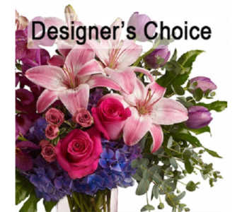 Designer's Choice Custom Vase in St. John's NL, J.J. Neville & Sons