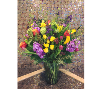 Mixed Spring Bouquet in Bainbridge Island WA, Changing Seasons Florist
