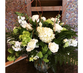Classic White Bouquet in Bainbridge Island WA, Changing Seasons Florist