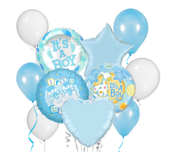 It's a Boy! Balloon Bouquet in San Antonio TX, Dusty's & Amie's Flowers