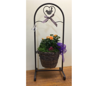 Small Swing Planter in North Bay ON, The Flower Garden