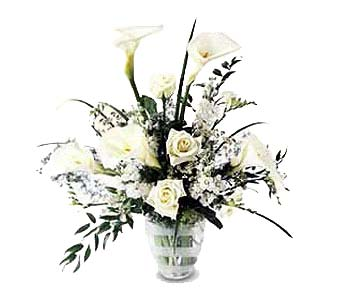 White Elegance in New York NY, CitiFloral Inc.
