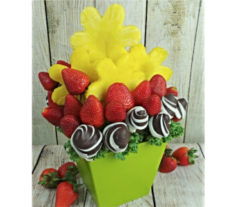 Sun Heart Edible Bouquet in Jonesboro AR, Posey Peddler