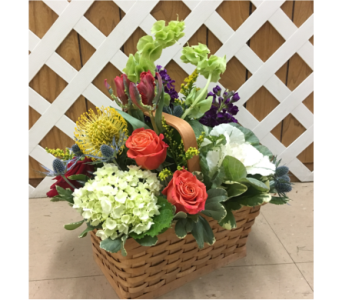 Exotic Garden Basket in Purcellville VA, Purcellville Florist