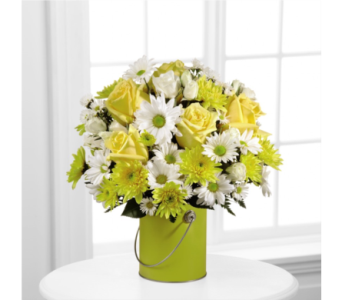 The Color Your Day With Sunshine Bouquet  in Moncks Corner SC, Berkeley Florist
