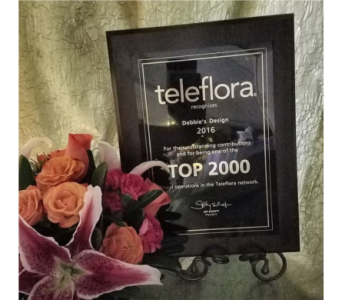 Teleflora top 2000 in Crown Point IN, Debbie's Designs