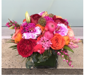 Flamingo Road Bouquet in Bellevue WA, CITY FLOWERS, INC.