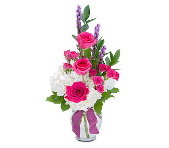 Popular Pink in Spartanburg SC, A-Arrangement Florist