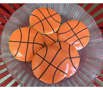 Basketball Cookies Large in Portland OR, Portland Florist Shop