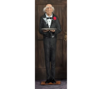 Animated Dobson the Butler in Bellevue WA, CITY FLOWERS, INC.