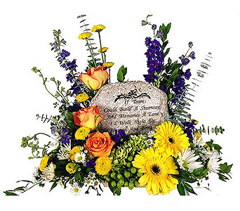 If Tears Could Build A Stairway Plaque in Baltimore MD, Raimondi's Flowers & Fruit Baskets