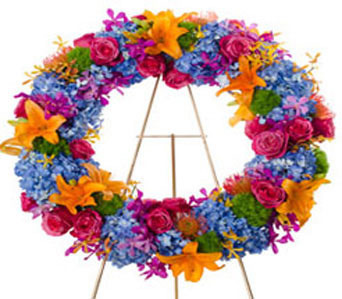 Fondly Remembered Wreath in Baltimore MD, Raimondi's Flowers & Fruit Baskets